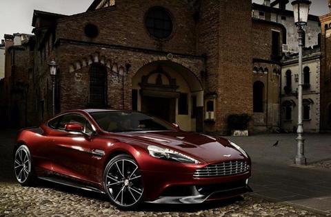 Aston Martin On Vanquish 2013 Galerie Foto Si Video